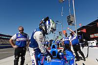 Ryan Briscoe, Auto Club Speedway, Fontana, CA USA 8/30/2014