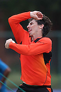 Brad Hogg of Perth Scorchers during the Perth Scorchers Training Session held at the Sawai Mansingh Stadium in Jaipur on the 28th September 2013<br /> <br /> Photo by Shaun Roy-CLT20-SPORTZPICS <br /> <br /> Use of this image is subject to the terms and conditions as outlined by the CLT20. These terms can be found by following this link:<br /> <br /> http://sportzpics.photoshelter.com/image/I0000NmDchxxGVv4