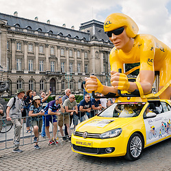 06-07-2019: Wielrennen: Tour de France: Brussel<br />
