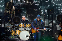REGINA, SK - MAY 17: Don Henley of the Eagles plays the drums during the opening ceremonies of the 2018 MasterCard Memorial Cup at Mosaic Stadium on May 17, 2018 in Regina, Canada. (Photo by Marissa Baecker/Shoot the Breeze)