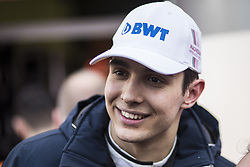 March 9, 2018 - Barcelona, Catalonia, Spain - 31 Esteban Ocon from France Force India F1 VJM11 portrait during day four of F1 Winter Testing at Circuit de Catalunya on March 9, 2018 in Montmelo, Spain. (Credit Image: © Xavier Bonilla/NurPhoto via ZUMA Press)