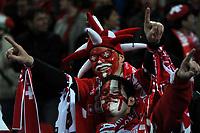 Photo: Tony Oudot/Richard Lane Photography. <br /> England v Switzerland. International Friendly. 06/02/2008. <br /> Swiss fans