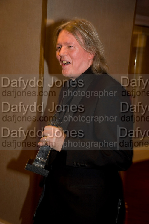 CHRISTOPHER HAMPTON, The Laurence Olivier Awards, The Grosvenor House Hotel. Park Lane. London. 8 March 2009 *** Local Caption *** -DO NOT ARCHIVE -Copyright Photograph by Dafydd Jones. 248 Clapham Rd. London SW9 0PZ. Tel 0207 820 0771. www.dafjones.com<br /> CHRISTOPHER HAMPTON, The Laurence Olivier Awards, The Grosvenor House Hotel. Park Lane. London. 8 March 2009