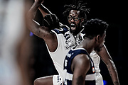 MartinKelvin e BrownJohn Esultanza <br /> Happy Casa Brindisi - Pompea Fortitudo Bologna <br /> LBA Final Eight 2020 Zurich Connect - Semifinale<br /> Basket Serie A LBA 2019/2020<br /> Pesaro, Italia - 15 February 2020<br /> Foto Mattia Ozbot / CiamilloCastoria