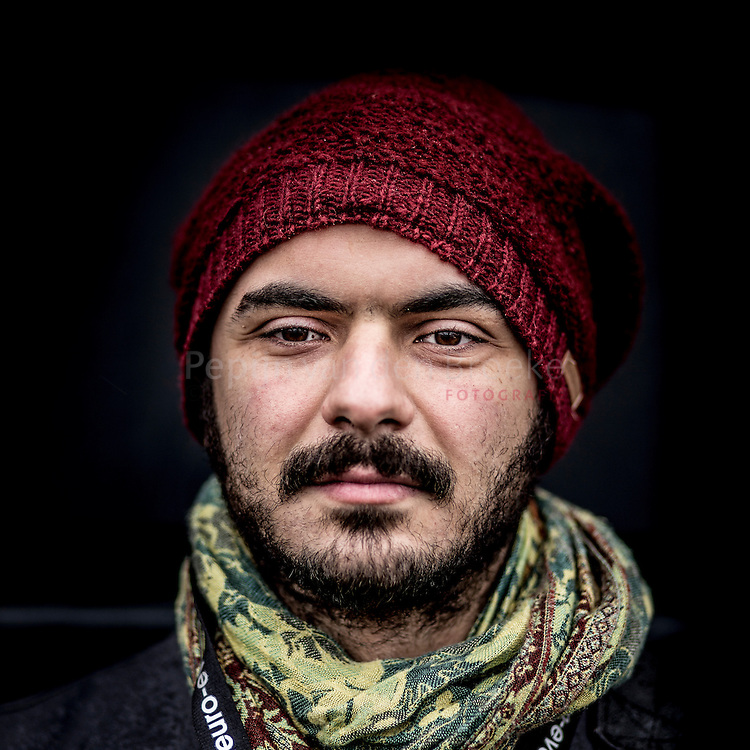 Nederland, groningen 20150115. Ahmetcan Tasdemir (29). Bezoeker ESNS festival . foto: Pepijn van den Broeke