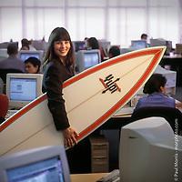 Editorial portrait of Yupi.com corporate executive.