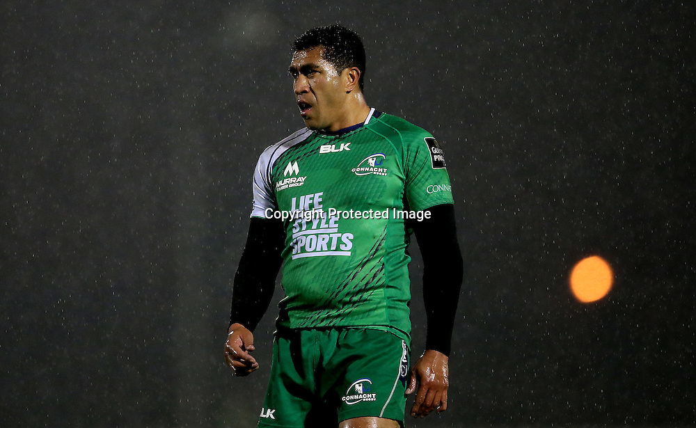 Guinness PRO12, Sportsground, Galway 21/11/2014<br /> Connacht vs Zebre<br /> Connacht's Mils Muliaina<br /> Mandatory Credit &copy;INPHO/James Crombie