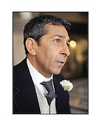 Actor Roshan Seth at the Taj Mahal Hotel, Mumbai. For Society Magazine by Siddharth Siva. Scan from 120mm colour transparency. Roshan Seth, Indian actor at the Taj Mahal Hotel, mumbai, India.<br />