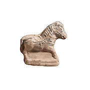 A Beit Natif type horse figurine 4th century CE (private collection)