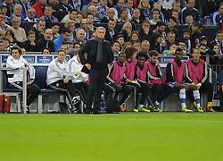 Chelsea Manager, Jose Mourinho - Photo mandatory by-line: Joe Meredith/JMP - Tel: Mobile: 07966 386802 22/10/2013 - SPORT - FOOTBALL - Veltins-Arena - Gelsenkirchen - FC Schalke 04 v Chelsea - CHAMPIONS LEAGUE - GROUP E