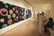 "VENICE, ITALY..50th Biennale of Venice.Palazzo Correr..Exhibition ""Painting: From Rauschenberg to Murakami, 1964-2003"".""Superflat Jellyfish Eyes 182"" by Takashi Murakami, 2003..(Photo by Heimo Aga)"