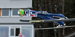 04.01.2014, Bergisel Schanze, Innsbruck, AUT, FIS Ski Sprung Weltcup, 62. Vierschanzentournee, Probesprung, im Bild Jaka Hvala (SLO) // Jaka Hvala of Slovenia during Trial Jump of 62nd Four Hills Tournament of FIS Ski Jumping World Cup at the Bergisel Schanze, Innsbruck, Austria on 2014/01/04. EXPA Pictures © 2014, PhotoCredit: EXPA/ Peter Rinderer