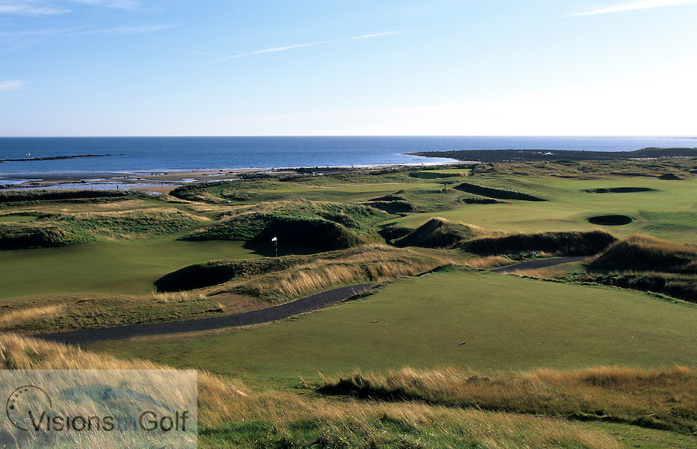 November 2000. Kingsbarns Golf Club, Scotland. Holes 6 and 16<br /> Mandatory credit: Visions In Golf/Richard Castka