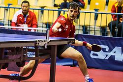 RUIZ REYES Jose Manuel of Spain during SPINT 2018 Table Tennis world championship for the Disabled, Day One, on October 16th, 2018, in Dvorana Zlatorog, Celje, Slovenia. . Photo by Grega Valancic / Sportida