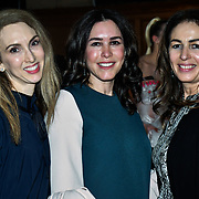 Guests attend The British luxury Womenswear designer, Chanel Joan Elkayam, showcases her Autumn - Winter 2020 show ahead of London Fashion Week on 13 February 2020 at Cecil Sharp House, London, UK.
