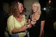 Melissa Wadley and Kat Gosling, PJ's Annual Polo Party . Annual Pre-Polo party that celebrates the start of the 2007 Polo season.  PJ's Bar & Grill, 52 Fulham Road, London, SW3. 14 May 2007. <br /> -DO NOT ARCHIVE-© Copyright Photograph by Dafydd Jones. 248 Clapham Rd. London SW9 0PZ. Tel 0207 820 0771. www.dafjones.com.