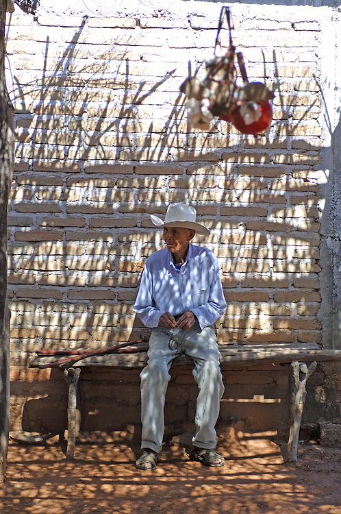 Mayo Indian Home, Los Capomos, near El Fuerte, Sinaloa, Mexico