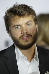Actor EMILE HIRSCH at the 'Twice Born' premiere during the 2012 Toronto International Film Festival at Roy Thomson Hall, September 13th 2012.  Photo by David Tabor/ i-Images.