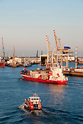 Hamburger Hafen, Hamburg, Deutschland.|.Hamburg Harbour, Hamburg, Germany.