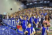 Commando Ultra' Dinamo<br /> Banco di Sardegna Dinamo Sassari - Angelico Biella<br /> Legabasket Serie A Beko 2012-2013<br /> Sassari, 30/09/2012<br /> Foto L.Canu / Ciamillo-Castoria
