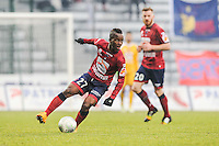 Souleymane SAWADOGO - 24.01.2015 - Clermont / Chateauroux  - 21eme journee de Ligue2<br />Photo : Jean Paul Thomas / Icon Sport