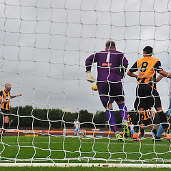 Panic in the Berwick goalmouth against Forfar....(c) BILLY WHITE | SportPix.org.uk