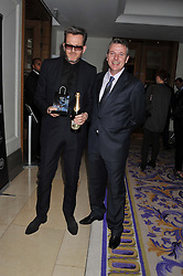 Left to right, NICK HART of Spencer Hart and JOE DOYLE at the 2012 Luxury Briefing Awards in association with Bloomberg held at the Corinthia Hotel, London on 14th March 2012.