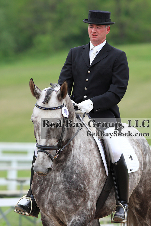 Harper Mackenzie and Ludwig at the 2010 Equivents Spring Classic in Milton, Ontario.
