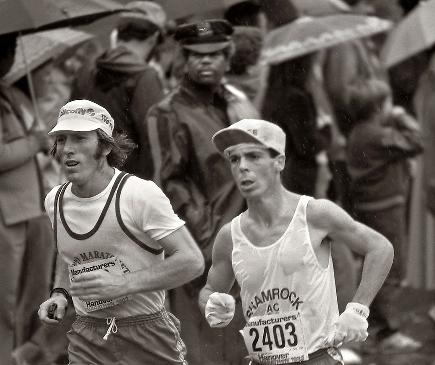 NYC Marathon, 1983.