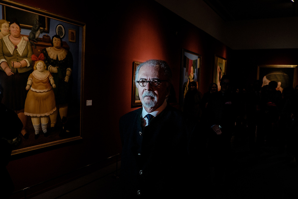 Fernando Botero - Colombian Painter and Sculptor