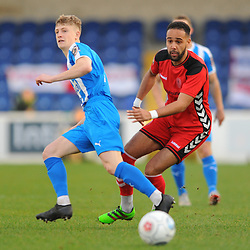 TELFORD COPYRIGHT MIKE SHERIDAN 22/12/2018 - Brendan Daniels (on loan from Port Vale) of AFC Telford during the Vanarama Conference North fixture between Chester FC and AFC Telford United at the Swansway Deva Stadium, Chester.