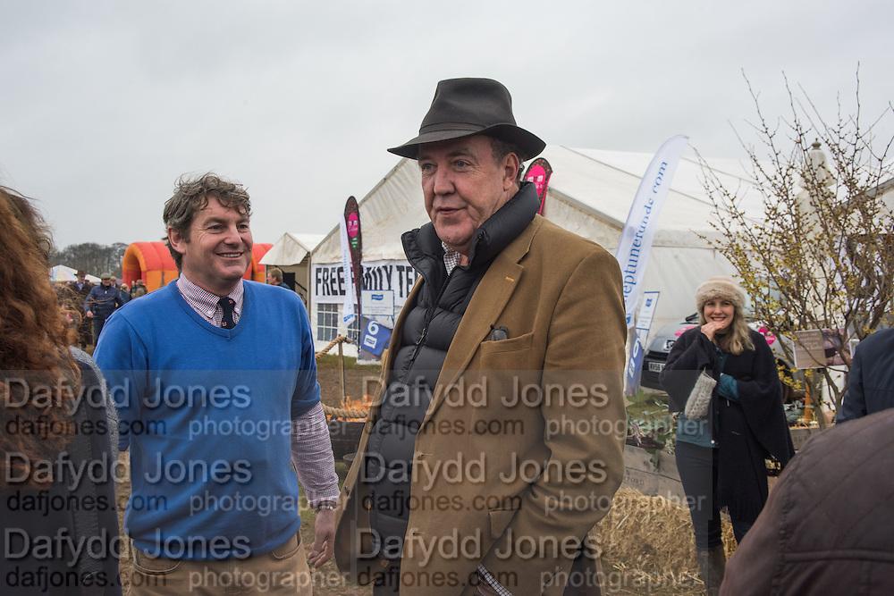 CHARLIE BROOKS; JEREMY CLARKSON, The Heythrop Hunt Point to Point. Cocklebarrow. 24 January 2016