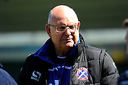 Dagenham & Redbridge manager John Still before the Sky Bet League 2 match between Plymouth Argyle and Dagenham and Redbridge at Home Park, Plymouth, England on 23 April 2016. Photo by Graham Hunt.