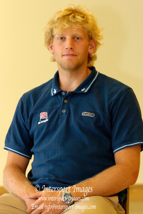 2005 British International Rowing, FISA World Cup Team announcement, Dorning Lake, ENGLAND: Andy Hodge..Photo  Peter Spurrier. .email images@intersport-images...[Mandatory Credit Peter Spurrier/ Intersport Images]