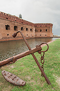 Fort Jefferson and anchor