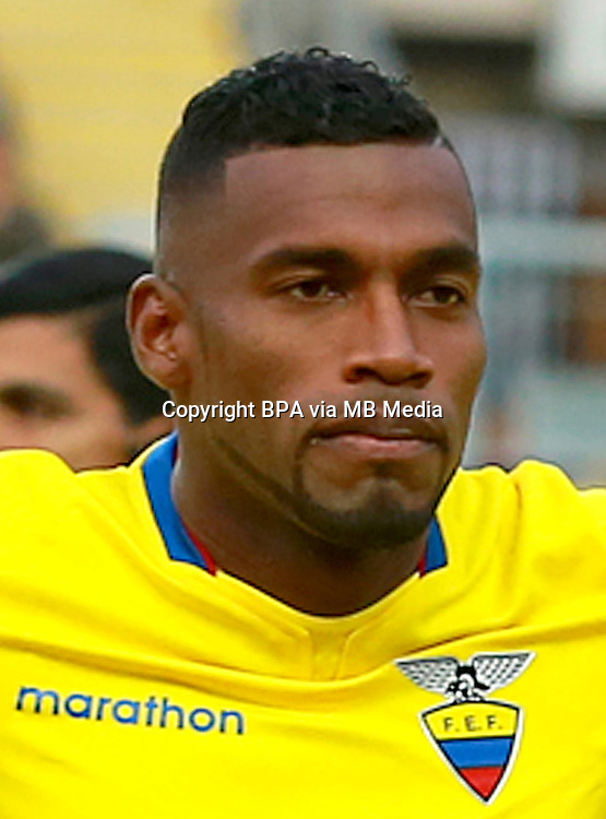 Conmebol_Concacaf - Copa America Centenario 2016 - <br /> Ecuador National Team - <br /> Gabriel Achilier