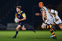 Sam Olver of Worcester Cavaliers in action  - Mandatory by-line: Craig Thomas/JMP - 23/10/2017 - RUGBY - Sixways Stadium - Worcester, England - Worcester Cavaliers v Wasps - Aviva A League