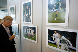 Visitor during opening of Photo exhibition in Hypo bank, on May 19, 2010 in Ciytpark, BTC, Ljubljana, Slovenia. (Photo by Vid Ponikvar / Sportida)