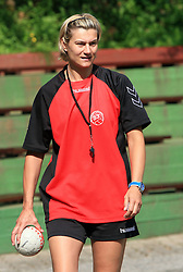 Anja Freser trenerka na otroski rokometni akademiji Urosa Z. v Dolenjskih toplicah, 27. junija 2008, Dolenjske toplice, Slovenija. (Photo by Vid Ponikvar / Sportal Images)