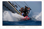 "TO BUY: Click Add to Cart above. America's Cup 2007 Team New Zealand picture by Cory Silken. Available 24""x36"" or 17""x25"" NOTE: The copyright watermark only appears online and is NOT printed."