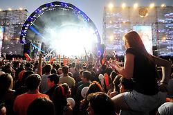 Movimento de público no Planeta Atlântida 2014/SC, que acontece nos dias 17 e 18 de janeiro de 2014 no Sapiens Parque, em Florianópolis. FOTO: Vinícius Costa/ Agência Preview