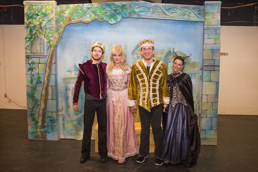 The Illusion Factory performs Sleeping Beauty at First Night Akron 2015