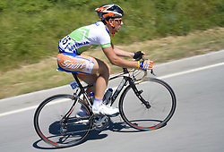 Alan Majersic  (SLO) of Slovenian National Team at 1st stage of Tour de Slovenie 2009 from Koper (SLO) to Villach (AUT),  229 km, on June 18 2009, in Koper, Slovenia. (Photo by Vid Ponikvar / Sportida)
