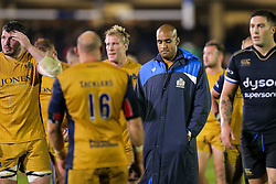 Tom Varndell of Bristol Rugby looks dejected after a 22-6 loss - Rogan Thomson/JMP - 20/10/2016 - RUGBY UNION - The Recreation Ground - Bath, England - Bath Rugby v Bristol Rugby - EPCR Challenge Cup.