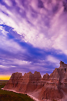 Badlands National Park, South Dakota USA