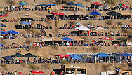 Nov. 15, 2009; Avondale, AZ, USA; NASCAR Sprint Cup Series fans watch the action from the mountain in turn four during the Checker O'Reilly Auto Parts 500 at Phoenix International Raceway. Mandatory Credit: Jennifer Stewart-US PRESSWIRE