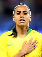 International Women's Friendly Matchs 2018 / <br /> France v Brazil 3-1 ( Allianz Riviera Stadium - Nice,France ) - <br /> Andressa Silva of Brazil