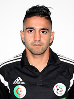Confederation of African Football - World Cup Fifa Russia 2018 Qualifier / <br /> Algeria National Team - Preview Set - <br /> Ryad Boudebouz
