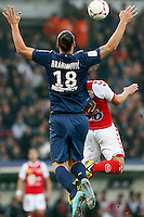 FOOTBALL - FRENCH CHAMPIONSHIP 2012/2013 - L1 - PARIS SAINT GERMAIN VS REIMS - 20/10/2012 - ZLATAN IBRAHIMOVIC (PARIS SAINT-GERMAIN)FOOTBALL - FRENCH CHAMPIONSHIP 2012/2013 - L1 - PARIS SAINT GERMAIN VS REIMS - 20/10/2012 - ZLATAN IBRAHIMOVIC (PARIS SAINT-GERMAIN)