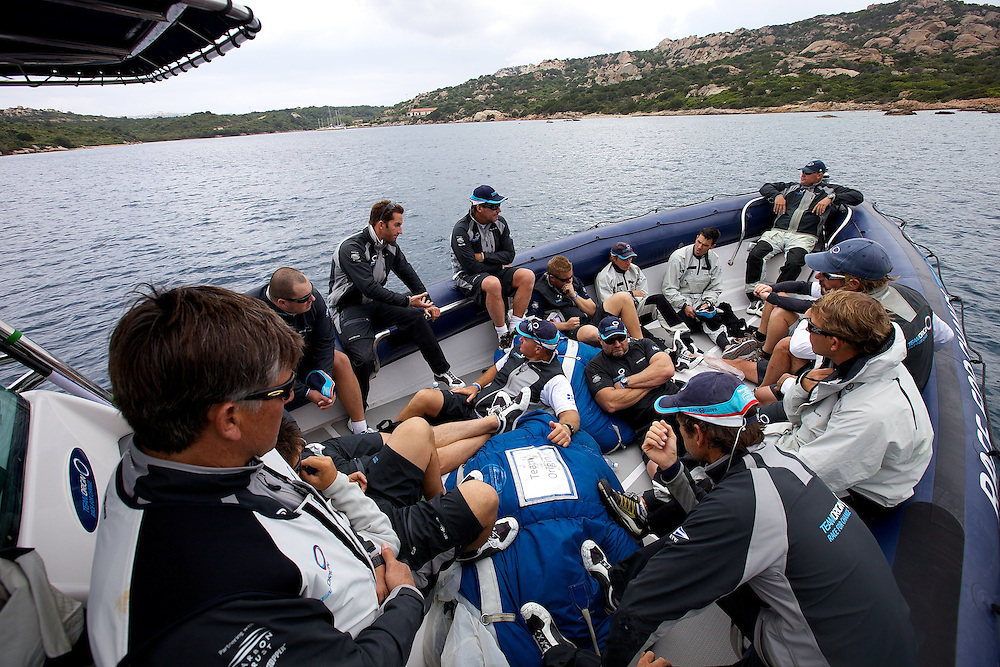 SARDINIA, La Maddalena, 19th May 2010, TEAMORIGIN debrief.